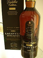 lagavulin 1991 'distiller's edition'