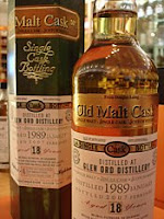 glen ord 'old malt cask'