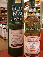 braeval 10 years old 'old malt cask' bottle