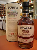 edradour 10 years old bottle