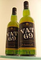 vat 69 bottles