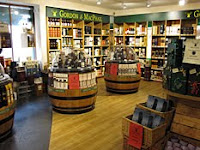 interior of gordon & macphail whisky shop