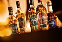 grant's blended whisky range