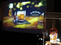 the bowmore presentation and bowmore 40 years old