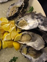 oysters with bowmore 12 years old