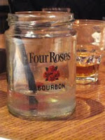 four roses cocktail glass