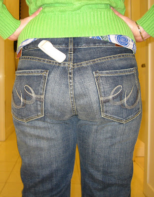 "Mom Jeans and the Dreaded ""Long Butt"" 