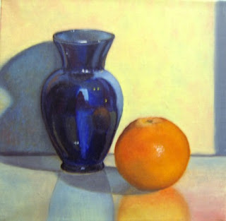 Daily Oil Painting, Still Life, Compliments