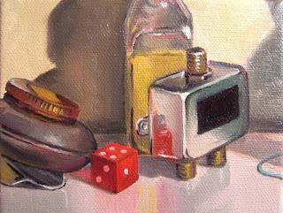 Daily Oil Painting, Still Life, Splitter