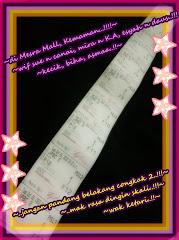 Ticket Wayang ''Jngan Pandang Blakang Cgkak 2'' !!!!~