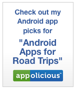 Best apps for Android DROID phones for road trips or traveling or commuting via Appolicious