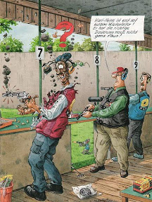 Karikatur: Wiederlader