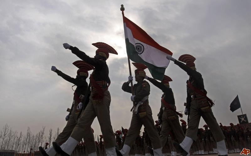 Indian Soldier Salute Matha and indian solidersIndian Army Soldier With Flag