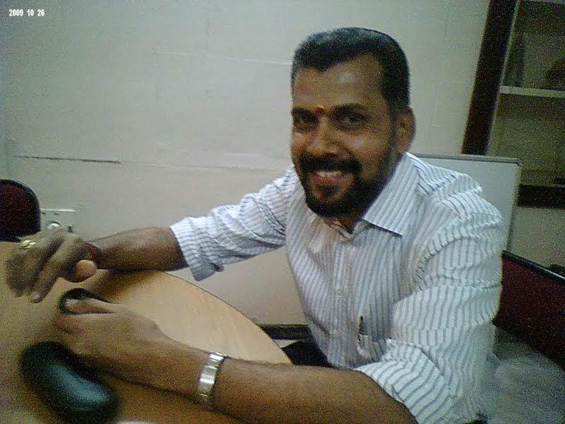 The journalist exclusive meet with dr kg raveendran arya for K muraleedharan sfc group