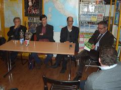 """Foto presentazione """"La Tv per sport"""" alla Libreria dello sport di Milano"""