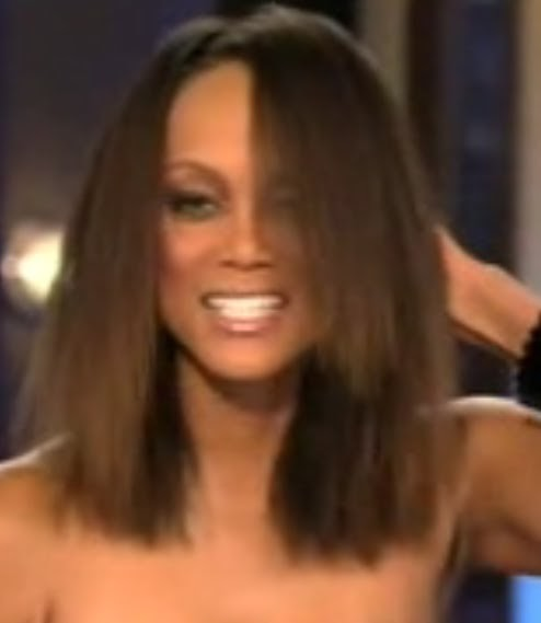 Naturally Beautiful Hair: Re: Miss Tyra Banks