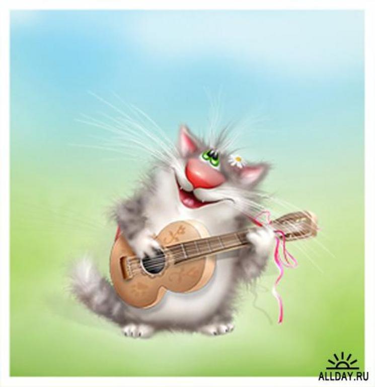 Смешные коты (26 картинок) .