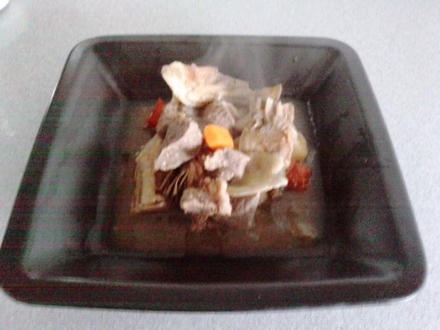 Petita cuina estofat de vedella i carxofes - Vedella amb bolets olla express ...