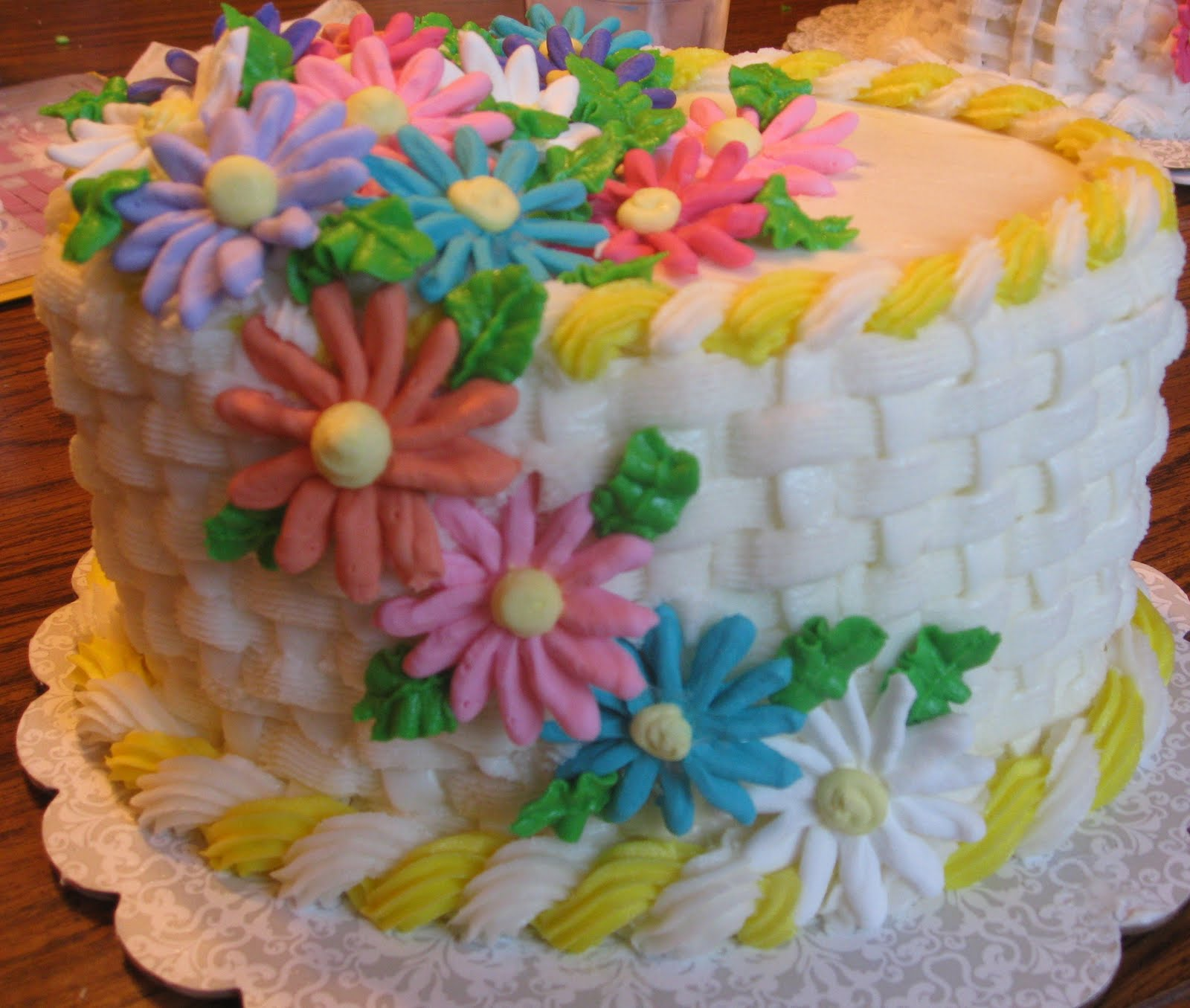 Cake Decorating Classes Fort Collins : Reynolds Family: Cake Class 2 Completed!
