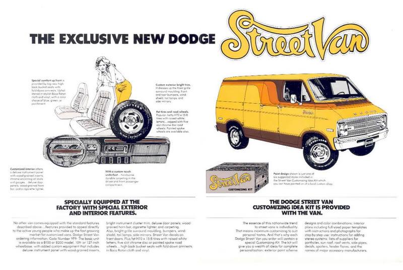 The Super Sexy Dodge Street Van