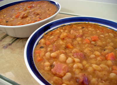 Baked Bean Style Bean Soup