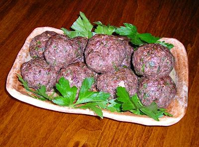 Baked Mushroom Meatballs ( Organic Beef)