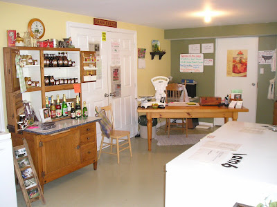 Another picture of the interior of the Well Fed Food shop