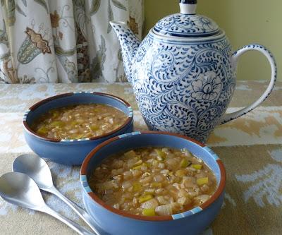 Vegetarian Four Onion Soup