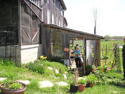 Meeting Place Organic Farm Greenhouse