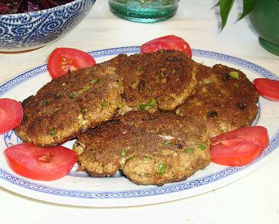 Moroccan Spice Lamb Patties