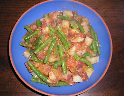 Potatoes, Tomatoes and Beans