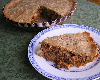 Vegetarian Lentil Tourtiere