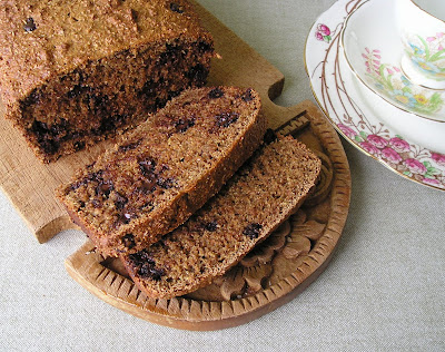 Buttermilk Bran Loaf with Chocolate Chips