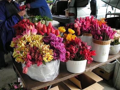 Owen Sound Farmers Market Cut Tulips
