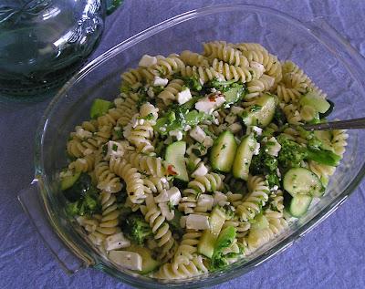 Broccoli, Feta and Pasta Salad