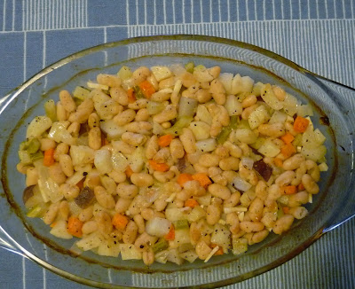 Braised White Beans and Root Vegetables