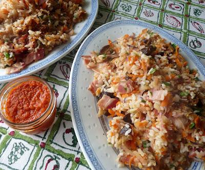 Radish Fried Rice