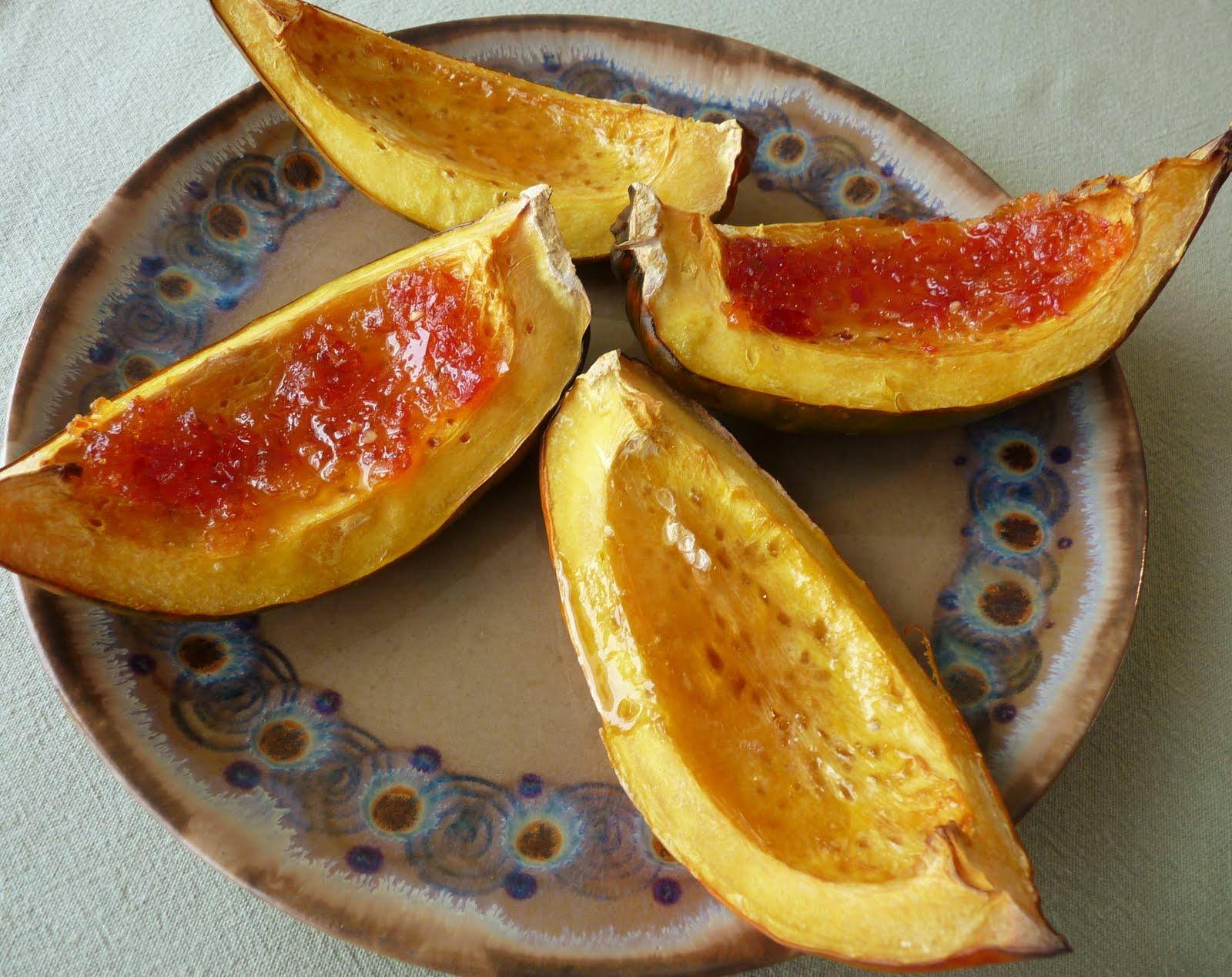 Seasonal Ontario Food: Jelly-Glazed Acorn Squash