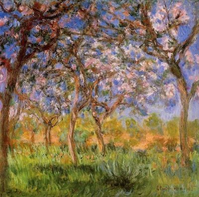 Le Printemps, Claude Monet