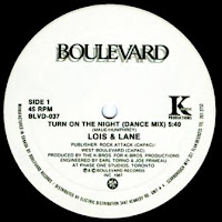 LOIS AND LANE - Turn On The Night (1987)