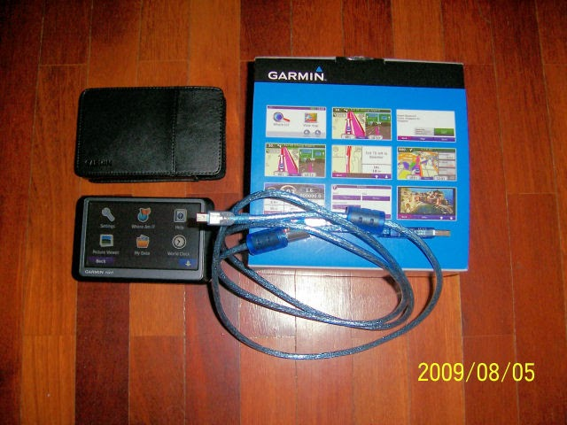 Garmin Nuvi 255W Review with GPS map updates and manual download