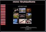 -mono- fényképalbuma