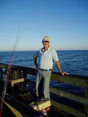 Drew pier fishing