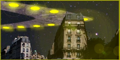 UFO Over Saint-Denis France