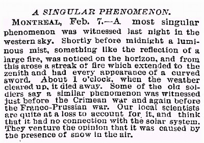A Singular Phenomenon - New York Times - 2-8-1886