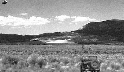 UFO Crash at Ely Nevada (Grainy)