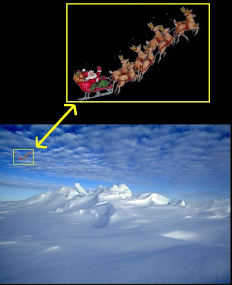 UFO Over North Pole