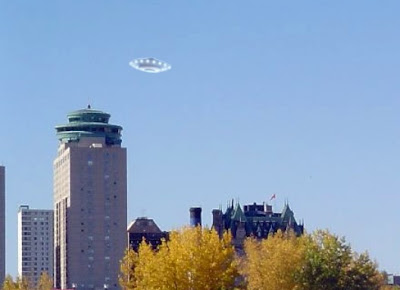 Flying Saucer Over Winnipeg