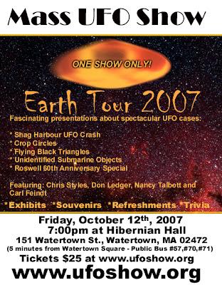 Mass UFO Show
