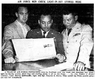 Air Force Check Out Lights - Wayne County Press 8-12-1963